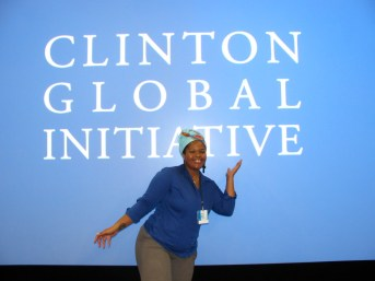 Divinity at Clinton Global Initiative
